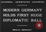 Image of ball dance Berlin Germany, 1930, second 2 stock footage video 65675068044