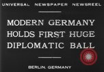 Image of ball dance Berlin Germany, 1930, second 4 stock footage video 65675068044