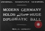 Image of ball dance Berlin Germany, 1930, second 5 stock footage video 65675068044