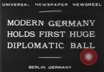 Image of ball dance Berlin Germany, 1930, second 6 stock footage video 65675068044