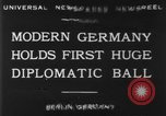 Image of ball dance Berlin Germany, 1930, second 7 stock footage video 65675068044