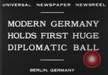 Image of ball dance Berlin Germany, 1930, second 10 stock footage video 65675068044
