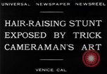 Image of trick photography Venice Beach Los Angeles California USA, 1930, second 10 stock footage video 65675068045