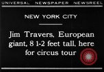Image of Jim Travers New York United States USA, 1930, second 1 stock footage video 65675068047