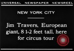 Image of Jim Travers New York United States USA, 1930, second 2 stock footage video 65675068047