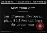 Image of Jim Travers New York United States USA, 1930, second 3 stock footage video 65675068047