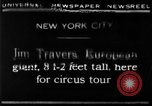 Image of Jim Travers New York United States USA, 1930, second 10 stock footage video 65675068047