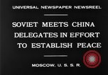 Image of Soviet China Conference Moscow Russia Soviet Union, 1930, second 2 stock footage video 65675068049