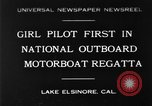 Image of boat race California United States USA, 1930, second 1 stock footage video 65675068050