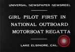 Image of boat race California United States USA, 1930, second 2 stock footage video 65675068050