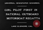 Image of boat race California United States USA, 1930, second 5 stock footage video 65675068050