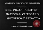 Image of boat race California United States USA, 1930, second 6 stock footage video 65675068050