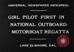 Image of boat race California United States USA, 1930, second 7 stock footage video 65675068050