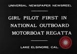 Image of boat race California United States USA, 1930, second 8 stock footage video 65675068050