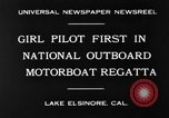 Image of boat race California United States USA, 1930, second 9 stock footage video 65675068050