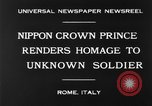 Image of delegates honor soldiers Rome Italy, 1930, second 8 stock footage video 65675068051