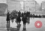 Image of delegates honor soldiers Rome Italy, 1930, second 11 stock footage video 65675068051