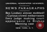 Image of Benjamin Barr Lindsey New York United States USA, 1930, second 2 stock footage video 65675068052