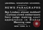 Image of Benjamin Barr Lindsey New York United States USA, 1930, second 8 stock footage video 65675068052