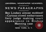 Image of Benjamin Barr Lindsey New York United States USA, 1930, second 10 stock footage video 65675068052