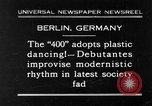 Image of social fad Berlin Germany, 1930, second 1 stock footage video 65675068053