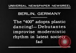 Image of social fad Berlin Germany, 1930, second 3 stock footage video 65675068053