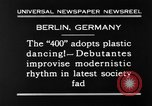 Image of social fad Berlin Germany, 1930, second 4 stock footage video 65675068053