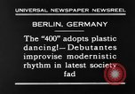 Image of social fad Berlin Germany, 1930, second 5 stock footage video 65675068053