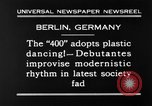 Image of social fad Berlin Germany, 1930, second 6 stock footage video 65675068053