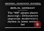 Image of social fad Berlin Germany, 1930, second 8 stock footage video 65675068053
