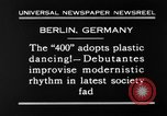 Image of social fad Berlin Germany, 1930, second 9 stock footage video 65675068053