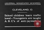 Image of traffic rules Cleveland Ohio USA, 1930, second 1 stock footage video 65675068054