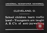 Image of traffic rules Cleveland Ohio USA, 1930, second 2 stock footage video 65675068054