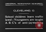 Image of traffic rules Cleveland Ohio USA, 1930, second 3 stock footage video 65675068054
