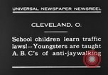 Image of traffic rules Cleveland Ohio USA, 1930, second 4 stock footage video 65675068054