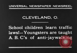 Image of traffic rules Cleveland Ohio USA, 1930, second 6 stock footage video 65675068054