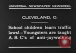Image of traffic rules Cleveland Ohio USA, 1930, second 7 stock footage video 65675068054