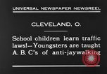 Image of traffic rules Cleveland Ohio USA, 1930, second 8 stock footage video 65675068054