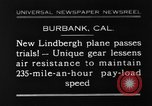 Image of new biplane Burbank California USA, 1930, second 1 stock footage video 65675068055