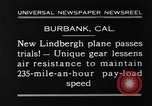 Image of new biplane Burbank California USA, 1930, second 2 stock footage video 65675068055