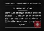 Image of new biplane Burbank California USA, 1930, second 3 stock footage video 65675068055