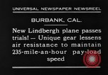 Image of new biplane Burbank California USA, 1930, second 4 stock footage video 65675068055