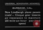 Image of new biplane Burbank California USA, 1930, second 5 stock footage video 65675068055