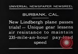 Image of new biplane Burbank California USA, 1930, second 10 stock footage video 65675068055