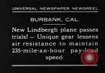 Image of new biplane Burbank California USA, 1930, second 11 stock footage video 65675068055