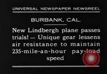 Image of new biplane Burbank California USA, 1930, second 12 stock footage video 65675068055