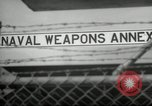 Image of Polaris missile Charleston South Carolina USA, 1960, second 10 stock footage video 65675068062