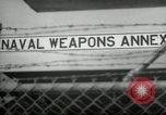 Image of Polaris missile Charleston South Carolina USA, 1960, second 11 stock footage video 65675068062