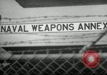 Image of Polaris missile Charleston South Carolina USA, 1960, second 12 stock footage video 65675068062