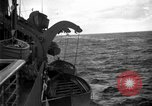 Image of convoy of ships North Atlantic Ocean, 1942, second 2 stock footage video 65675068071